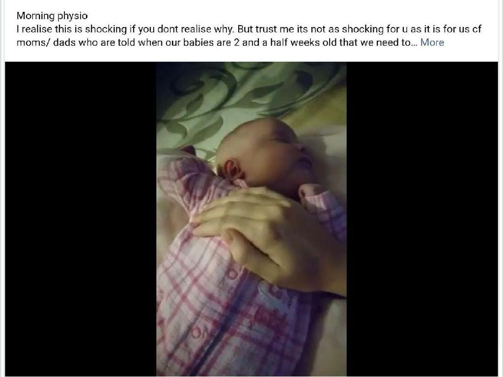 Dikira Menyakiti Bayinya, Padahal Ibu Ini Sedang Memberi Terapi