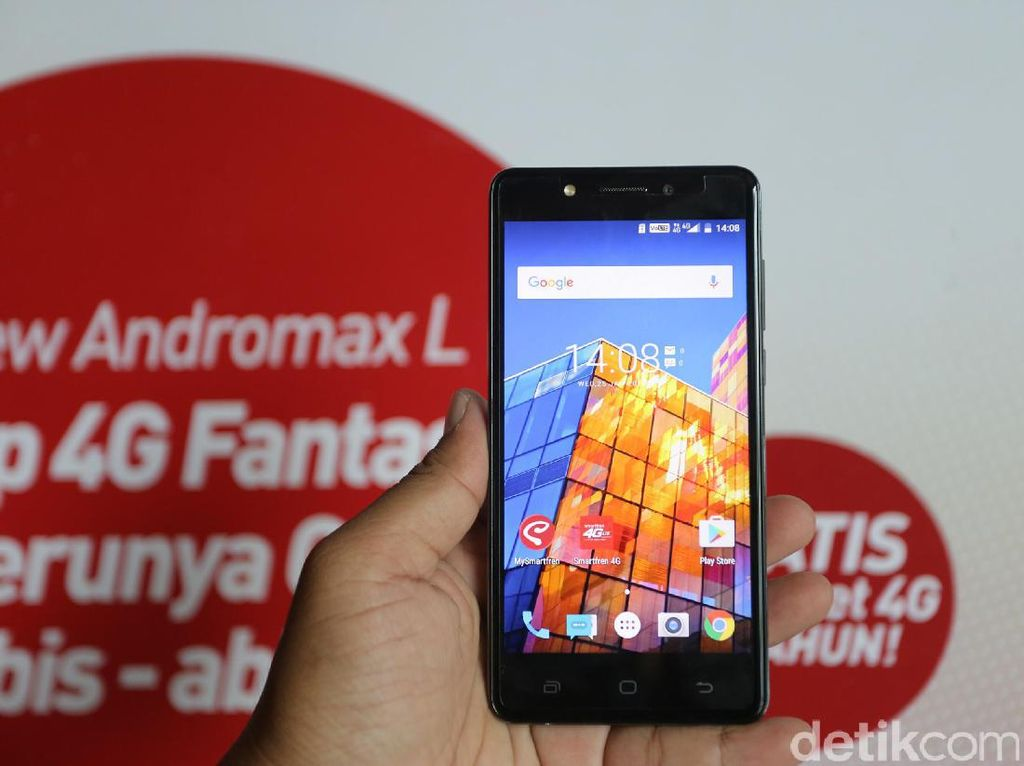 Smartfren Garap Andromax Feature Phone ala Smartphone
