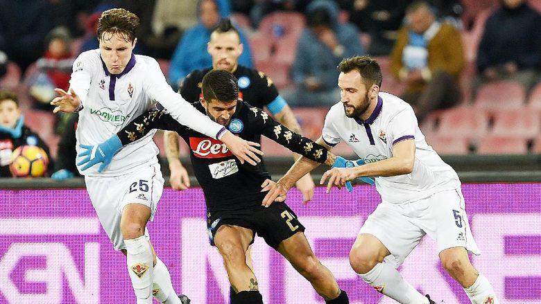 Gol Tunggal Callejon Loloskan Napoli ke Semifinal