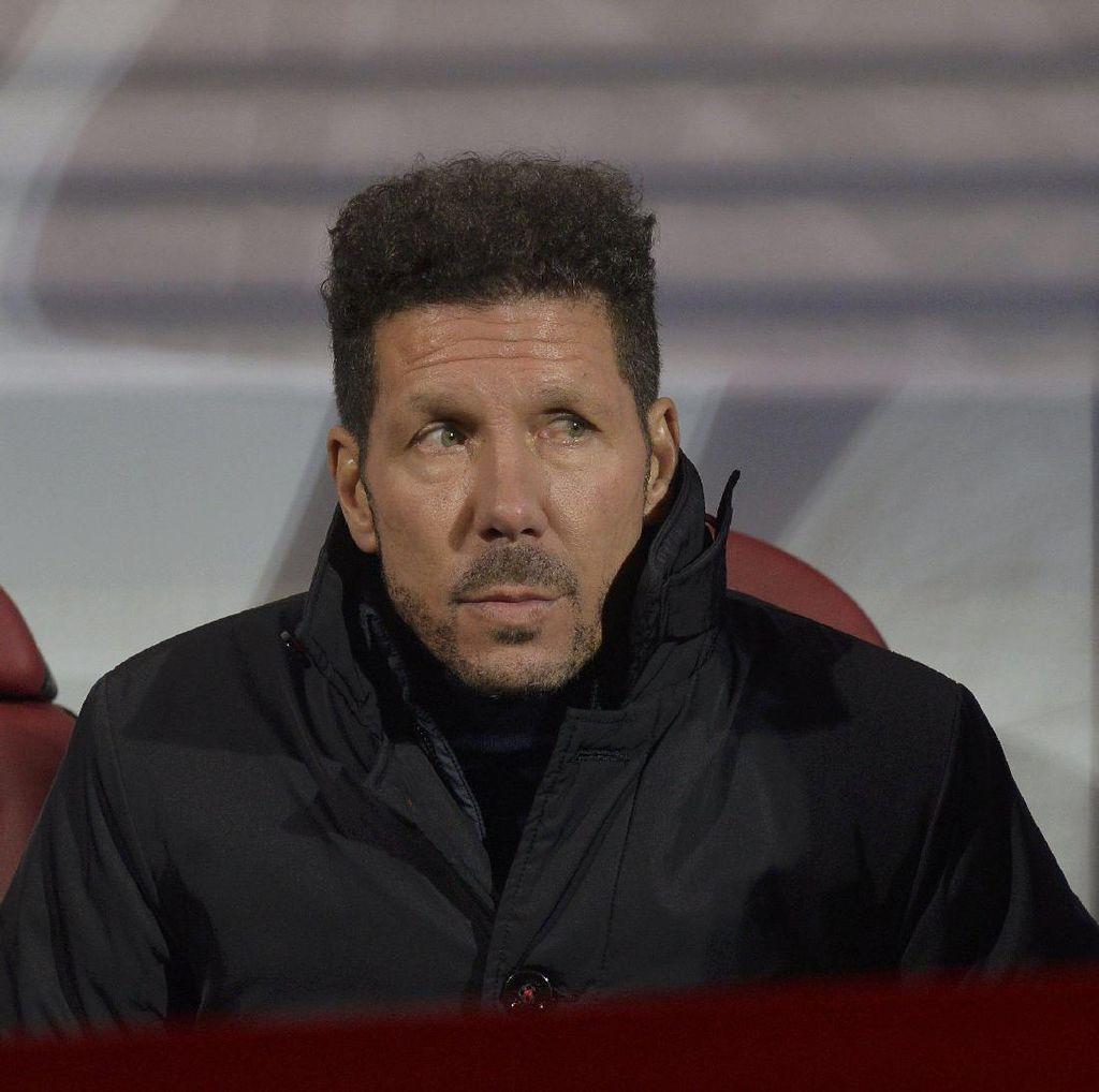 Simeone Tolak Rp 503 M demi Bertahan di Atletico