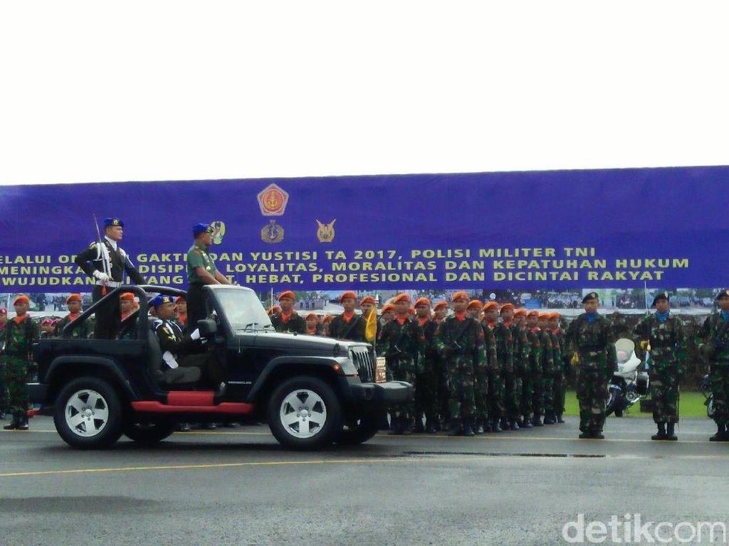 Panglima TNI Pimpin Apel Penegakan Ketertiban dan Yustisi