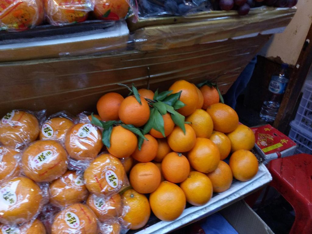Kemendag: Izin Impor Jeruk Mandarin Keluar, Termasuk dari China