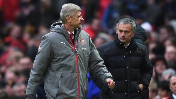 Mourinho: Semoga Wenger Bertahan di Arsenal