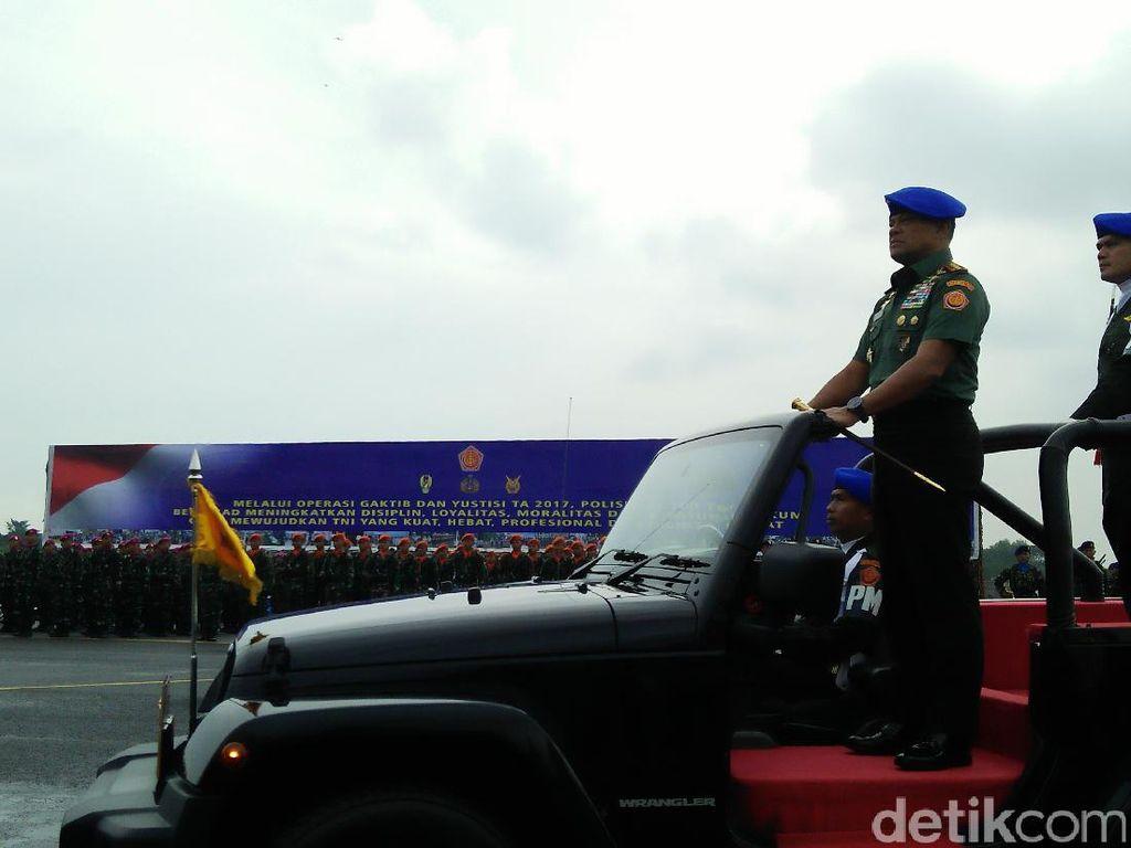 Panglima: Sepanjang 2016 Banyak Pelanggaran Narkoba di TNI