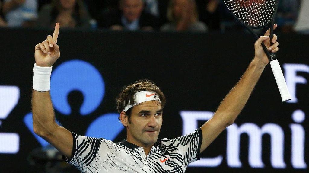 Federer Melaju ke Final Australia Terbuka