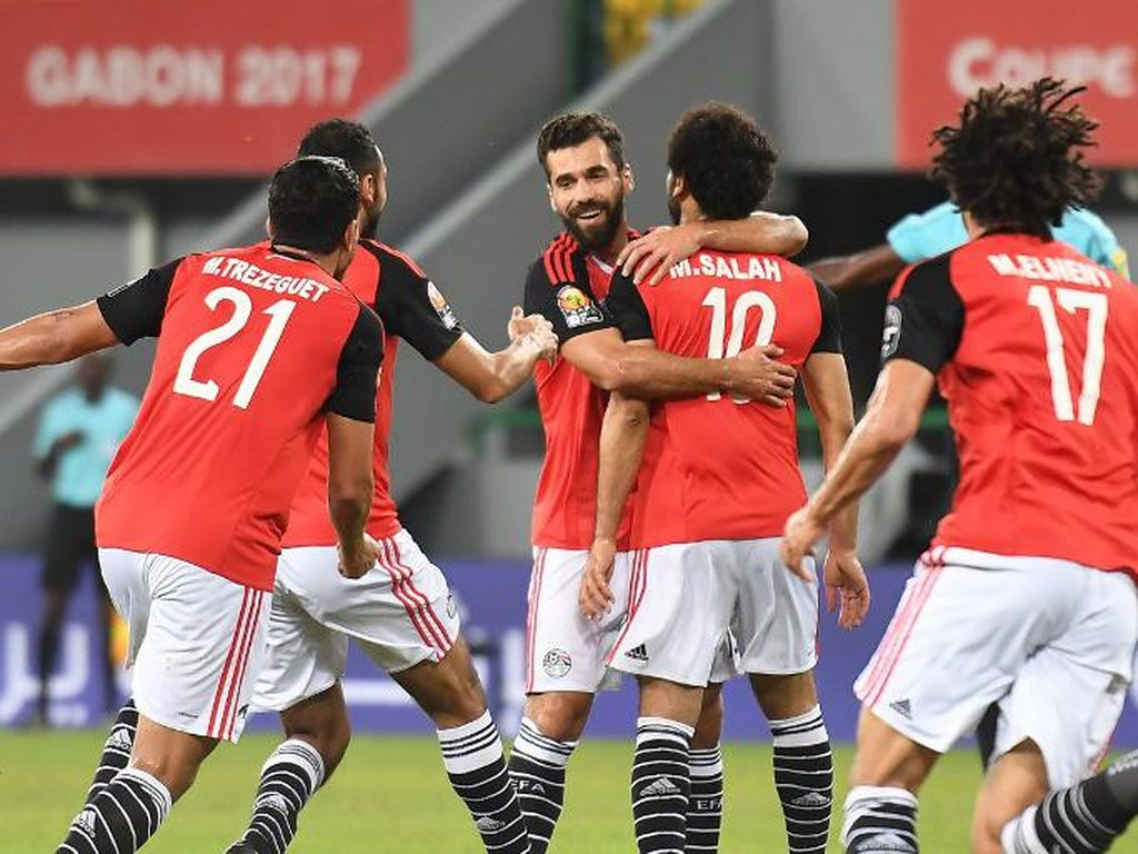 Tundukkan Ghana, Mesir Lolos sebagai Juara Grup