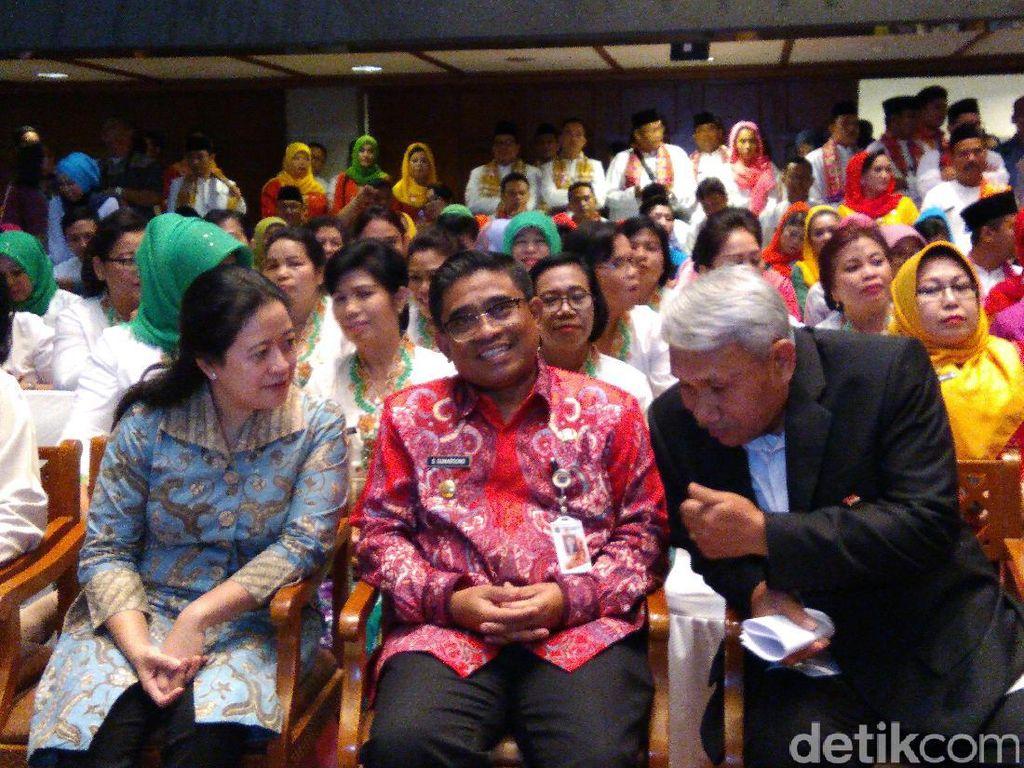 Menteri Puan Apresiasi Sumarsono Gelar Lomba Mars Revolusi Mental