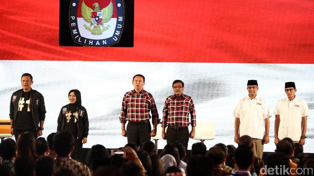 Cagub DKI Kembali Berdebat untuk Jakarta