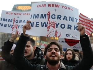 Sejumlah Pemerintah Kota AS Melawan Presiden Trump