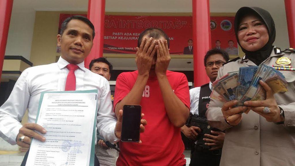 Tipu Warga Surabaya, Jasmo Boromania Diamankan
