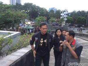 Tiba di Lokasi Debat, Agus-Sylvi Ungkap Pesan dari SBY