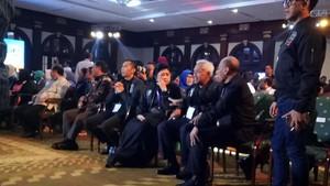 Ani Yudhoyono Dukung Agus Langsung di Arena Debat Cagub