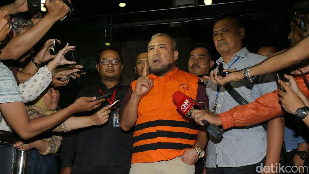 Hakim MK Patrialis Akbar Ditahan KPK