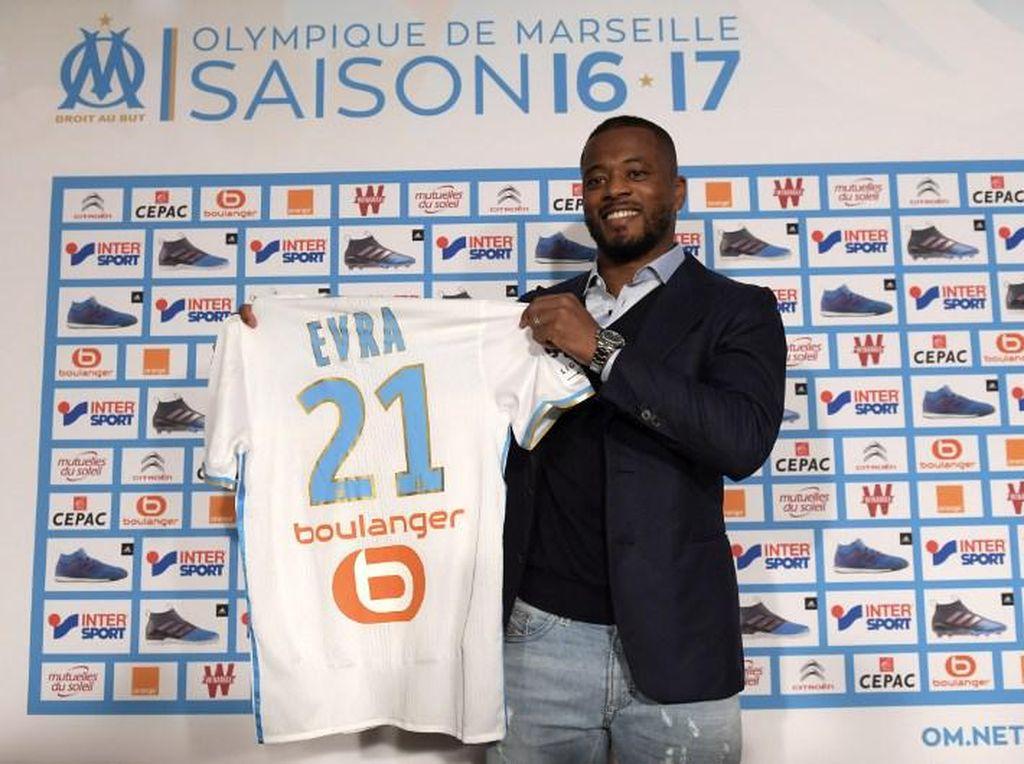 Evra Mantap Pilih Marseille