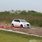 Datsun GO Panca Diajak Mini Drag Race dan Gymkhana