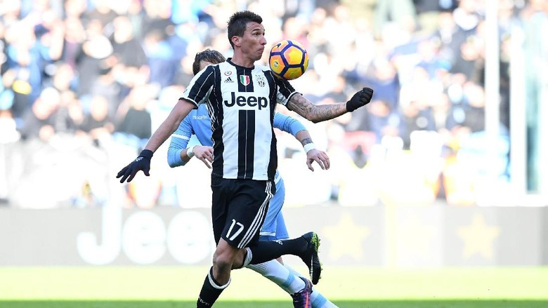 Mandzukic Sukai Formasi Baru Juventus