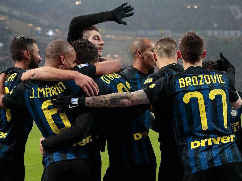 Inter Lanjutkan Rentetan Kemenangan Usai Tekuk Pescara