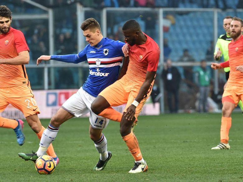 Roma Dipermalukan Sampdoria 2-3
