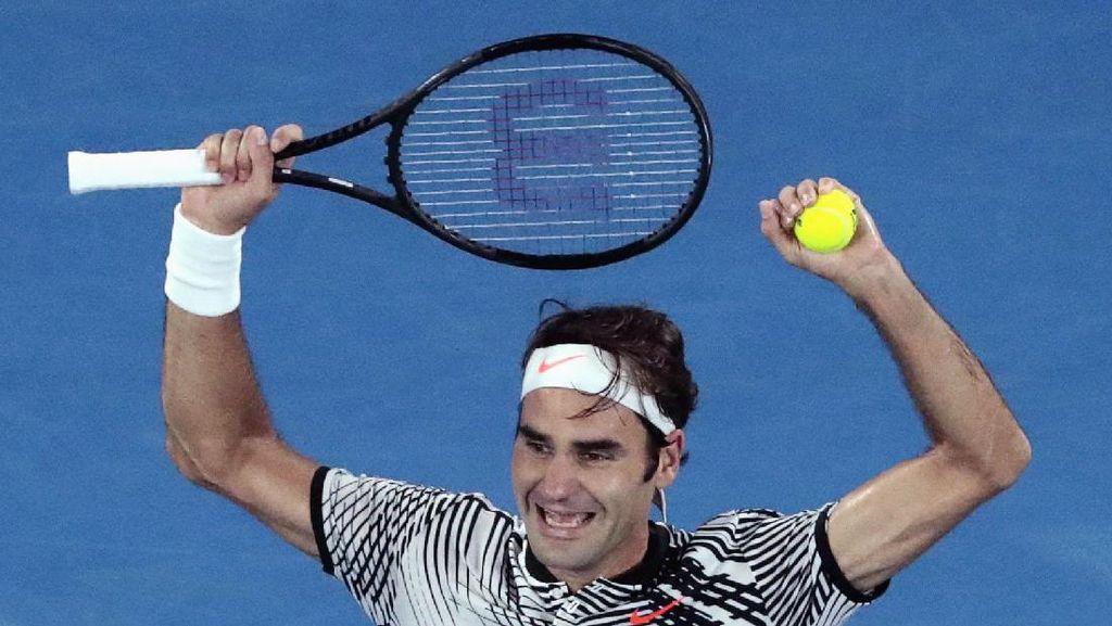 Federer Juara Australia Terbuka, Sejumlah Pemain Arsenal Ikut Heboh