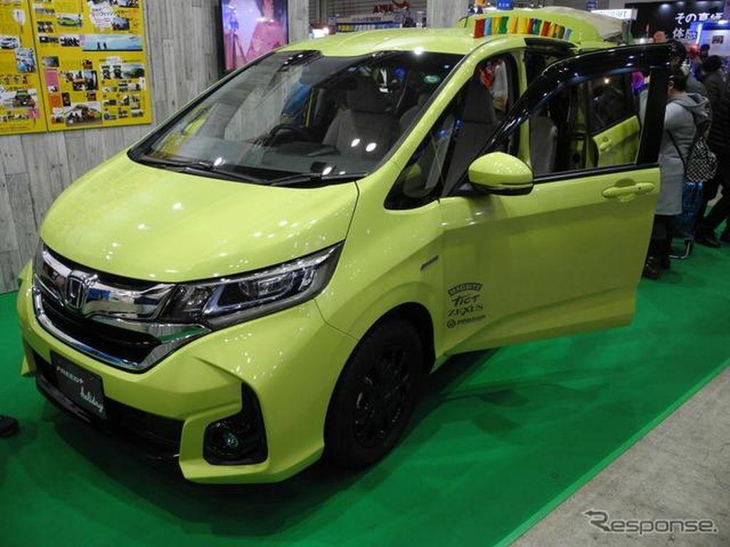 Honda Freed Buat yang Suka Mancing