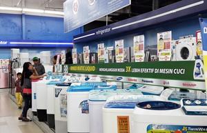 Tips Bersihkan Mesin Cuci dan Promo di Transmart Carrefour