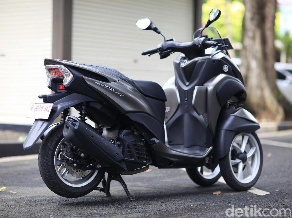 Yamaha Recall R25, MT-25 dan Tricity