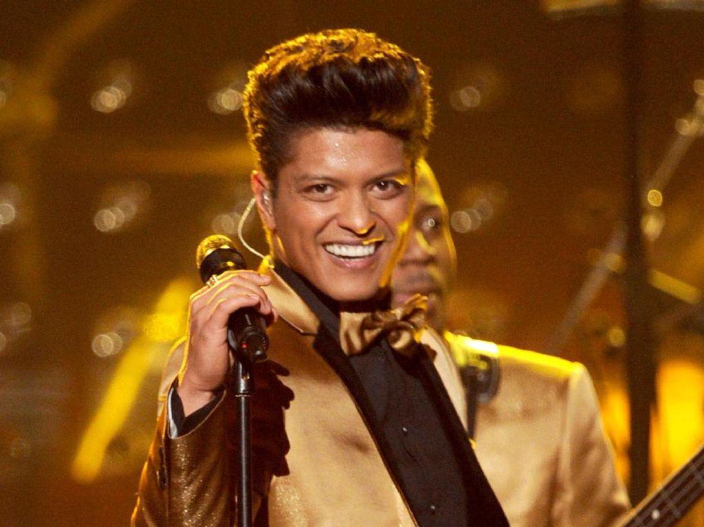 Batalkan Konser Sepihak, Bruno Mars Dituntut Rp 14 Miliar