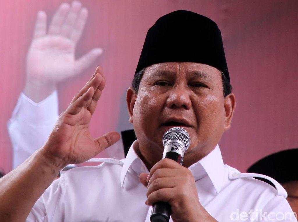 Bahas Pencapresan, Prabowo Minta Kader Gerindra Tak Merasa Besar