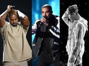 Boikot Grammy, Kanye West dan Justin Bieber Tanpa Piala Tahun Ini