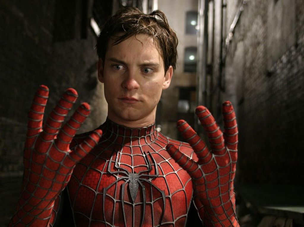 Fans Rindu, Petisi Tobey Maguire Ada di Spider-Man 2 Muncul