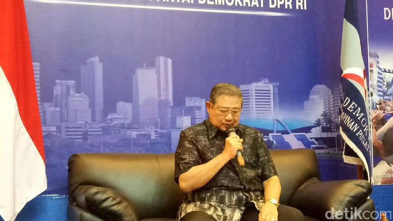SBY: Ada yang Melarang Jokowi Bertemu Saya