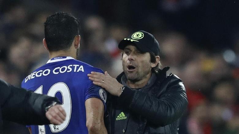 Diego Costa: SMS Conte? Sebuah Momen Gila