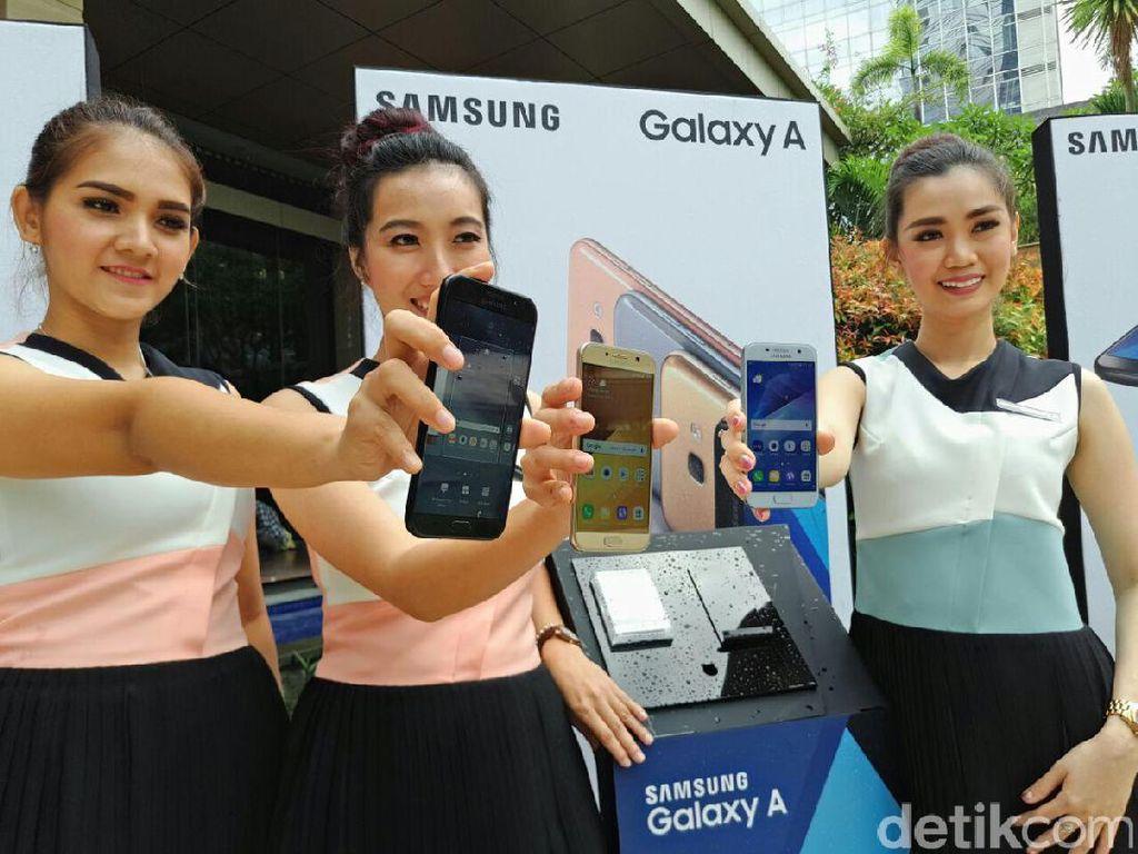 Ponsel Empat Kamera Samsung Segera Dirilis