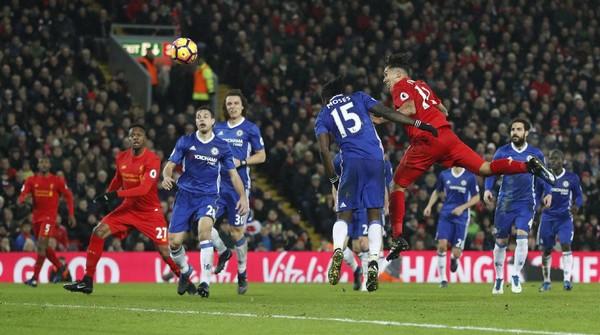 Liverpool Lawan Chelsea Berakhir Imbang 1-1