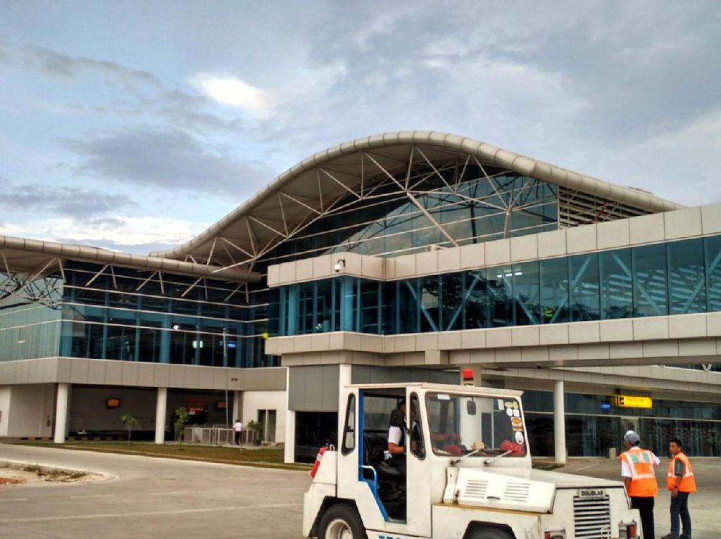 Sempat Dipakai Buat Evakuasi, Landas Pacu Bandara Jambi Normal Lagi