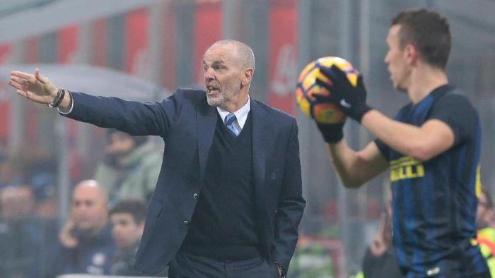 Stefano Pioli saat masih menangani Inter Milan (Emilio Andreoli/Getty Images)