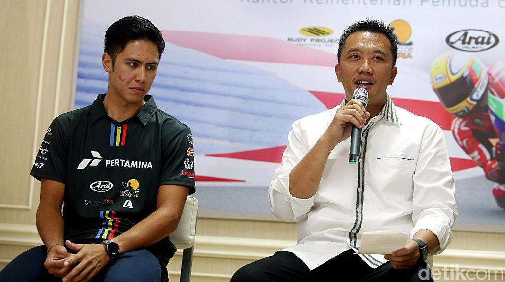 Menpora Dukung Ali Adrian Berkiprah di World Supersport 300