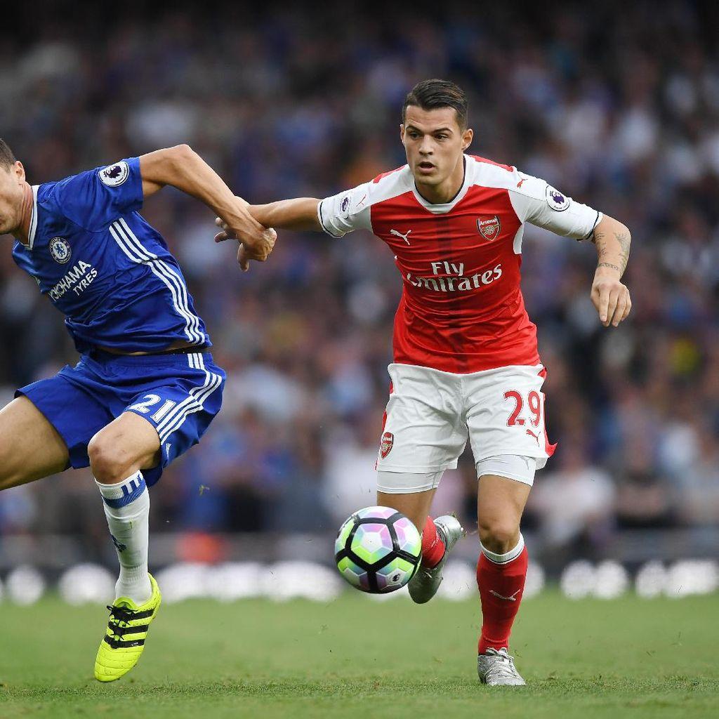 Xhaka Terganggu dengan Kritik dari Pihak yang Tak Tahu Arsenal