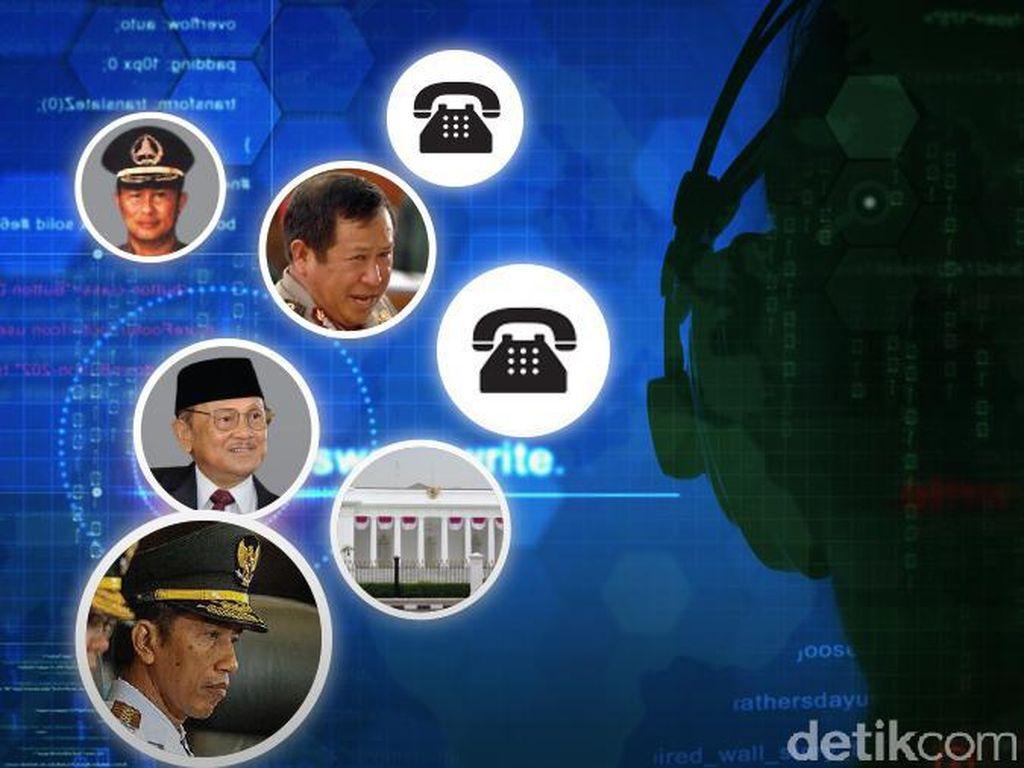 Mereka yang Pernah Disadap: Dari Habibie sampai Jokowi
