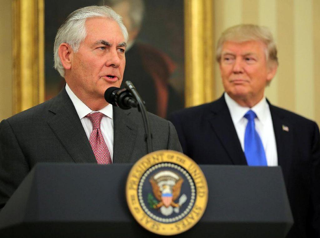 Senat AS Tetapkan Rex Tillerson Jadi Menlu AS yang Baru