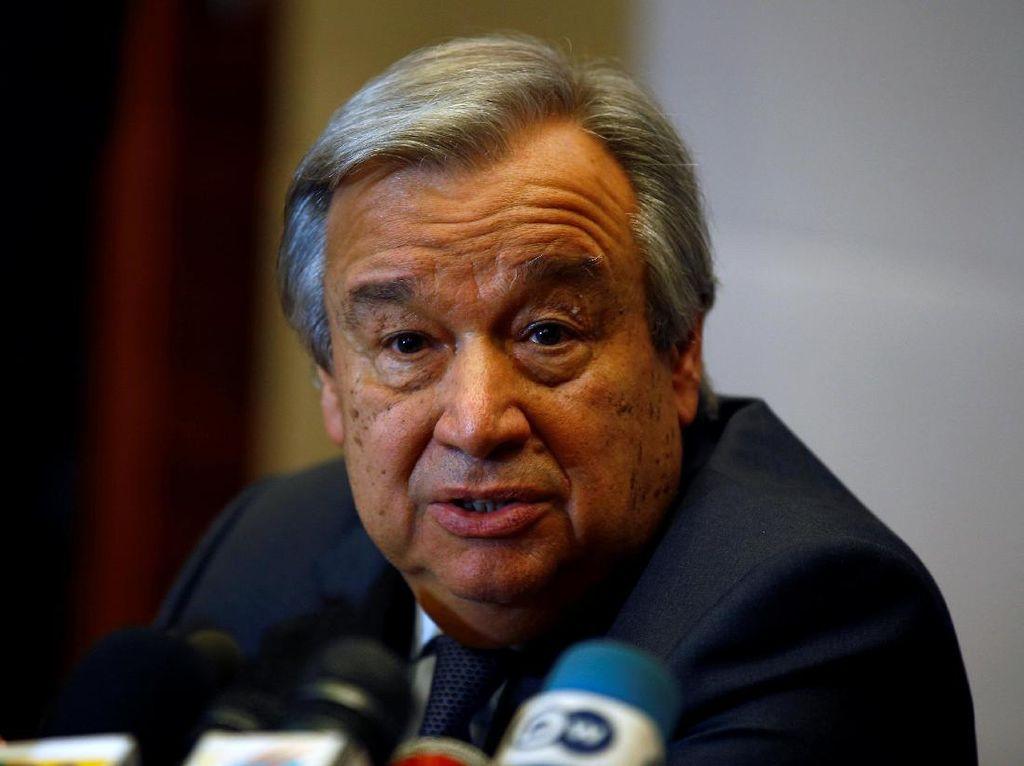 Pertama Kali, Sekjen PBB Guterres Kunjungi Israel dan Palestina