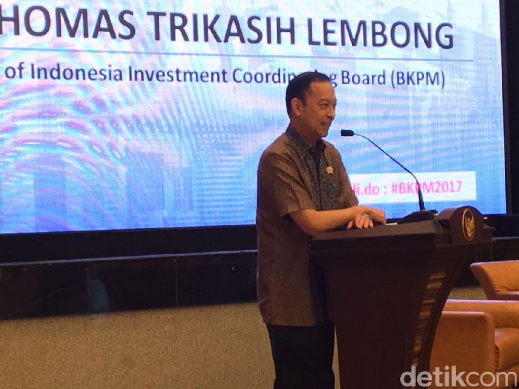 Lewat Layanan Ini, BKPM Jaring Investasi Rp 121,7 Triliun