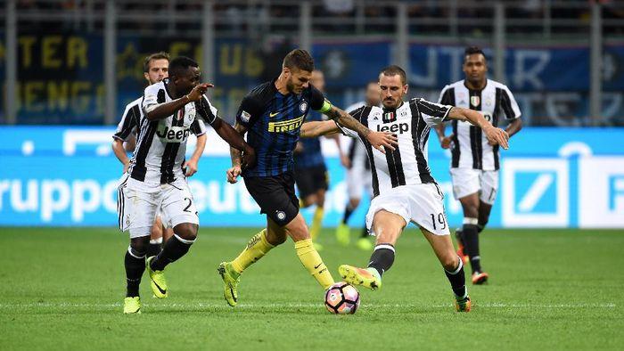 Inter Milan bertekad mengakhiri dominasi Juventus di Derby dItalia. (Foto: Pier Marco Tacca - Inter/Inter via Getty Images)