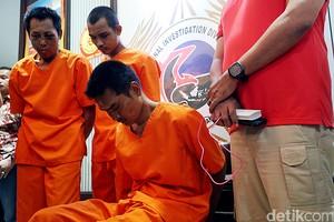 Polisi Tangkap Tahanan Narkoba yang Kabur