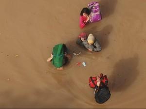 Melihat Tinggi Banjir Lewat Peta Bencana Interaktif BNPB