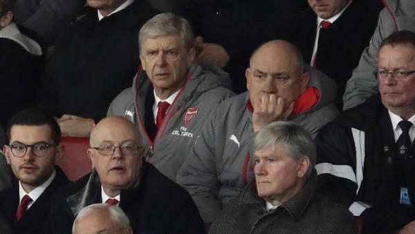 Bakal Duduk di Tribun Penonton, Wenger Dapat Kawalan