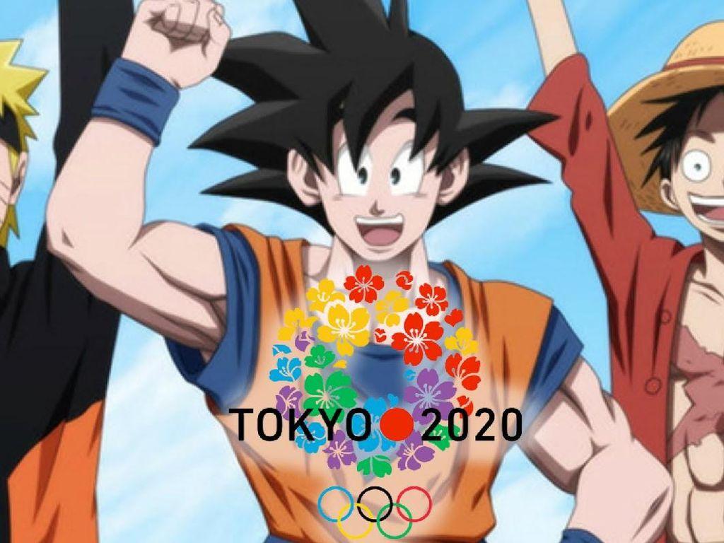 Goku dan Naruto Jadi Wajah Olimpiade Tokyo 2020