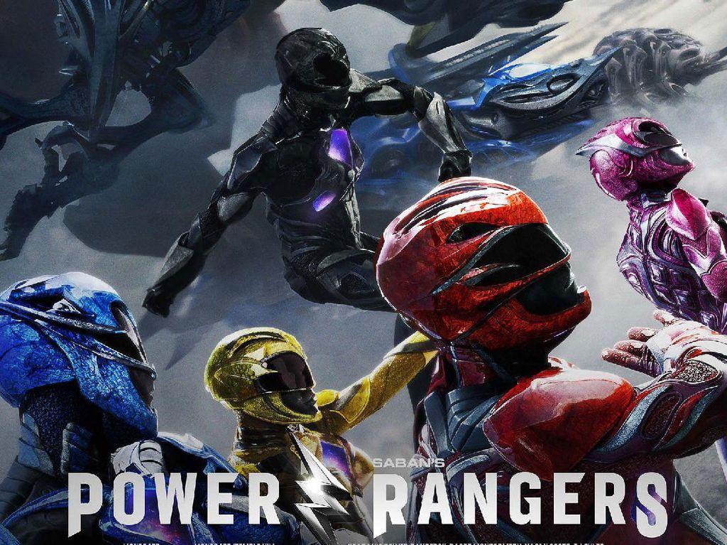 Power Rangers Rilis Poster Terbaru