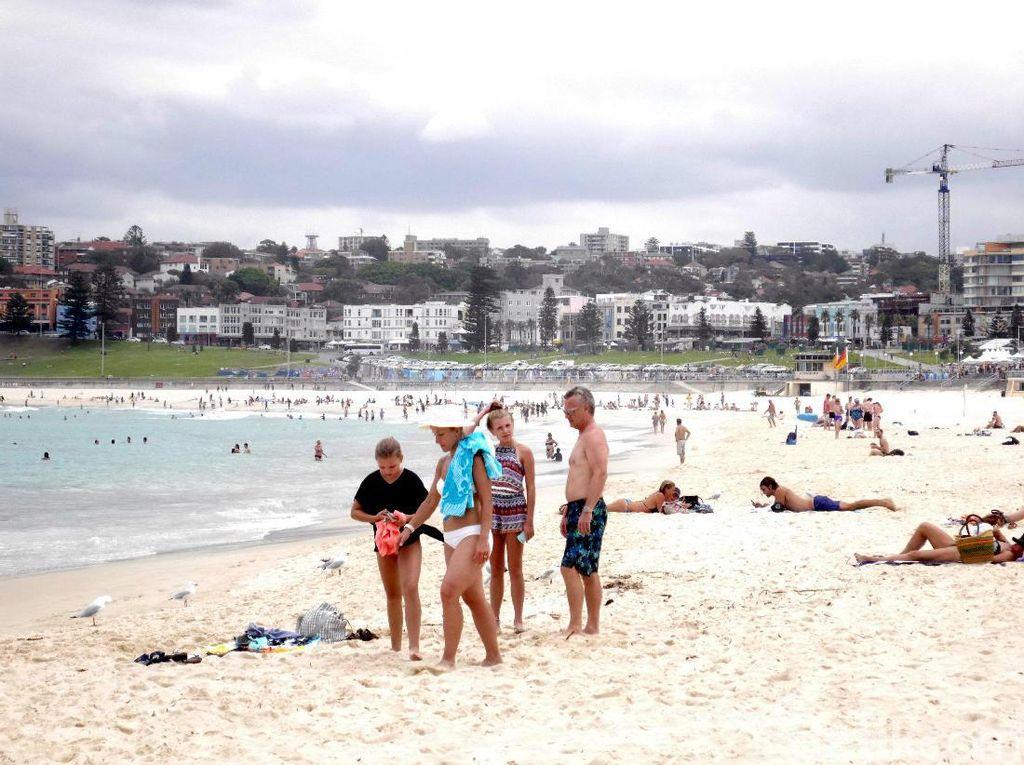 Pantai Bondi Sydney Dibuka, Khusus Peselancar dan Perenang