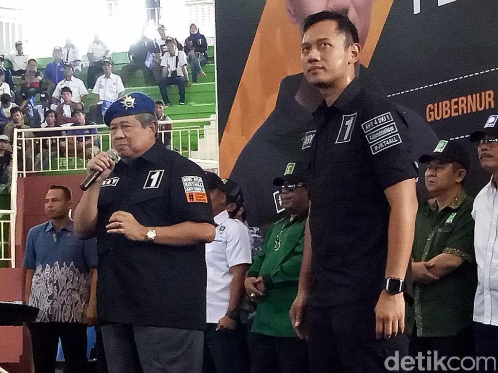 SBY Turun Gelanggang Pastikan Kemenangan Agus-Sylvi